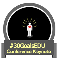 30 Goals Conference Keynote badge