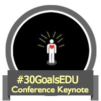 30 Goals Conference Keynote badge